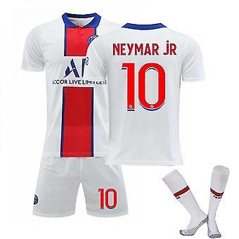 Neymar Jr #10 Trikot Home 2021-2022 Neue Saison Herren Paris Fußball T-Shirts Trikot Set