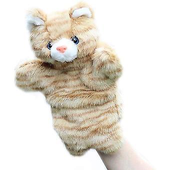 Cat Hand Puppet Pluszowa zabawka zwierzęca Pomysłowe opowiadanie historii
