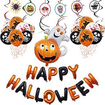 Halloween Carnival Pumpkin Balloon Decoration Kit