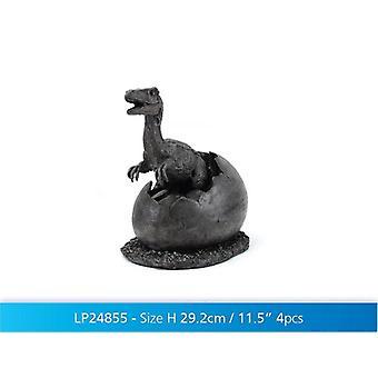 """10"""" ideia de presente de ornamento de dinossauro T-Rex ovo"""