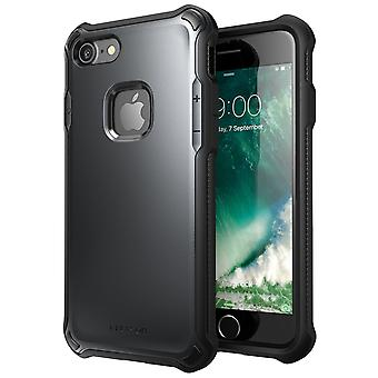 i-Blason-iPhone 7 Case-Venom Case-Hard Outter Shell -Metallic Gray