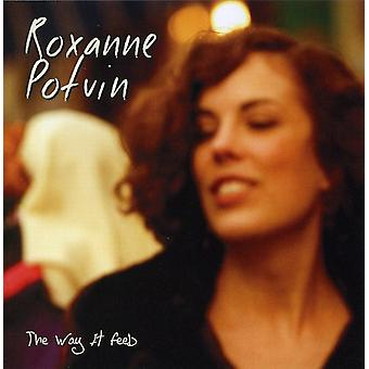 Roxanne Potvin - Way It Feels [CD] USA import