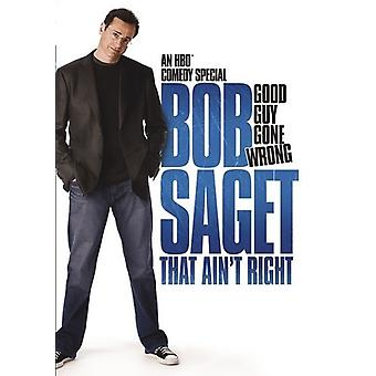 Bob Saget: That Ain't Right [DVD] USA import