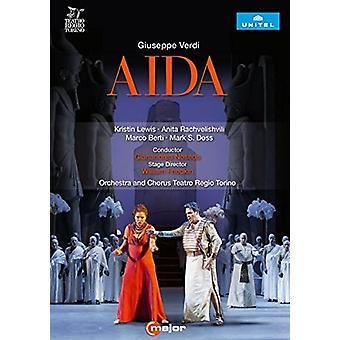Verdi: Aida [DVD] USA import