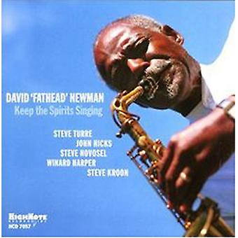 David Fathead Newman - Keep the Spirits Singing [CD] USA import