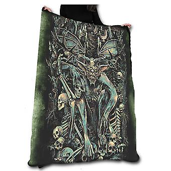 The lair fleece blanket / throw / tapestry  by chris lovell