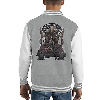Alien Alternative Ending Ripley Zincirli Kid's Varsity Jacket