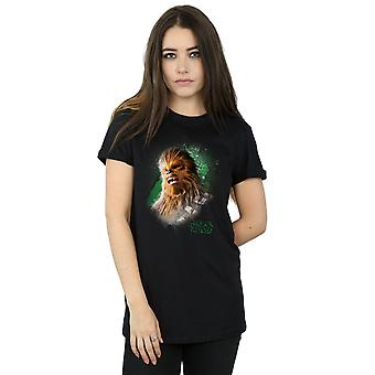 Chewbacca حرب النجوم للمرأة جدي آخر نحي صديقها تناسب تي شيرت