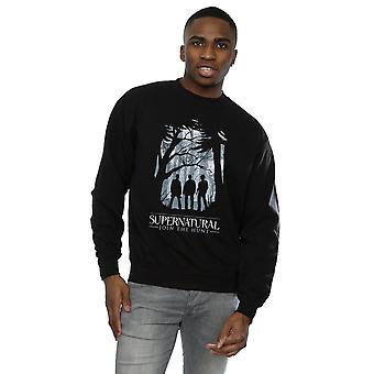 Supernatural Men's Group Outline Sweatshirt