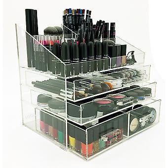 OnDisplay 4 Tier LA Acrylic Cosmetic/Makeup Organizer