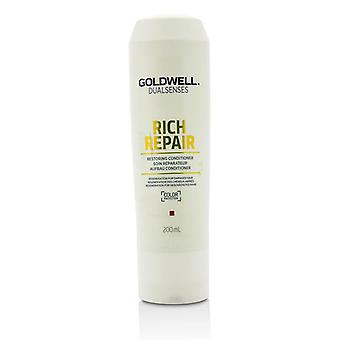 Dual Senses Rich Repair Restoring Conditioner (regeneration For Damaged Hair) - 200ml/6.7oz