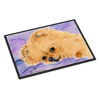 Carolines Treasures  SS8834MAT Pomeranian Indoor Outdoor Mat 18x27 Doormat