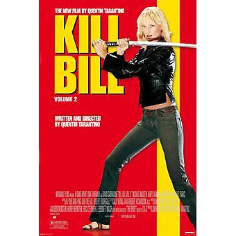 Kill Bill Vol 2 Poster Plakat-Druck