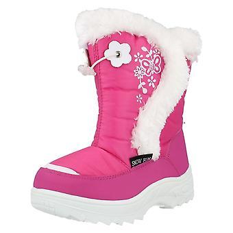 Девушки Snowfun ботинки с меховой отделкой 8.51102