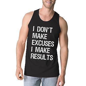 Resultados para hombre negro lindo gimnasio tanque entrenamiento divertidos regalos de excusas