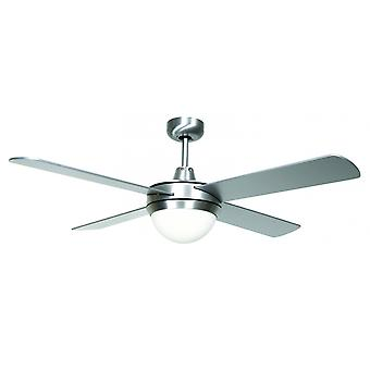 Ceiling Fan Futura Eco White with Light 122 cm / 48