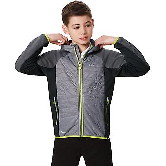 レガッタ男の子・女の子エクセルシス ポリエステル 2 トーン フルジップ ジャケット