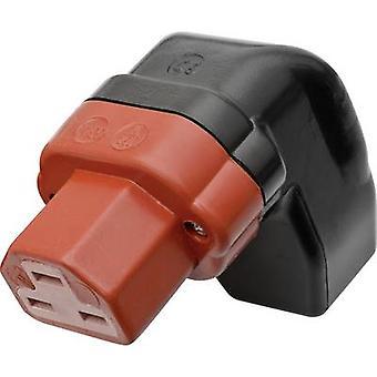 Kalthoff 444P/Si/Wi Heißdrahtstecker 444 Serie (Netzanschlüsse) 444 Sockel, rechter Winkel Anzahl Der Pins: 2 + PE 16 A Schwarz, Rot 1 Stk.
