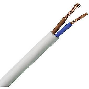 Kopp 151510843 elastyczny przewód H03VV-F 2 x 0,75 mm² biały 10 m