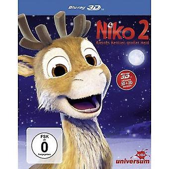 blu-ray 3D Niko 2 - Kleines Rentier, großer Held (+2D Version) FSC: 0