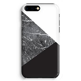 iPhone 8 Plus pełna głowiczki (błyszcząca) - połączenie marmuru