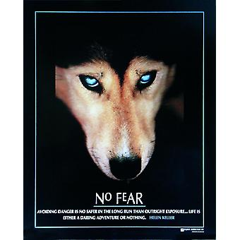 Nr. angst poster Wolf miniatuur