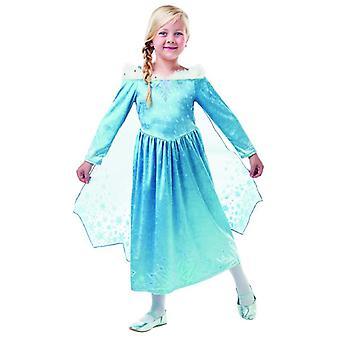 Elsa Frozen Olaf´s Adventure Deluxe Disney Kostüm Mädchen Karneval Prinzessin Kleid Märchen Eiskönigin