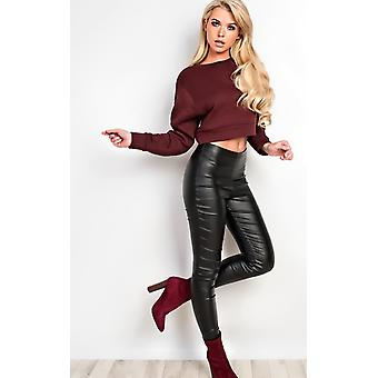 IKRUSH Womens Carlie Cropped Jumper