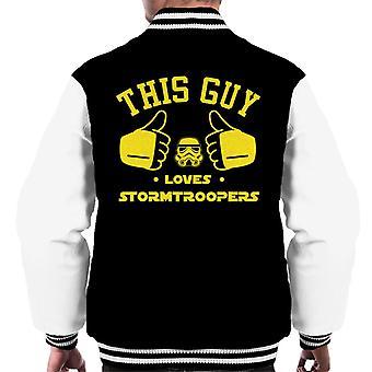 Originele Stormtrooper deze kerel houdt Troopers mannen Varsity Jacket
