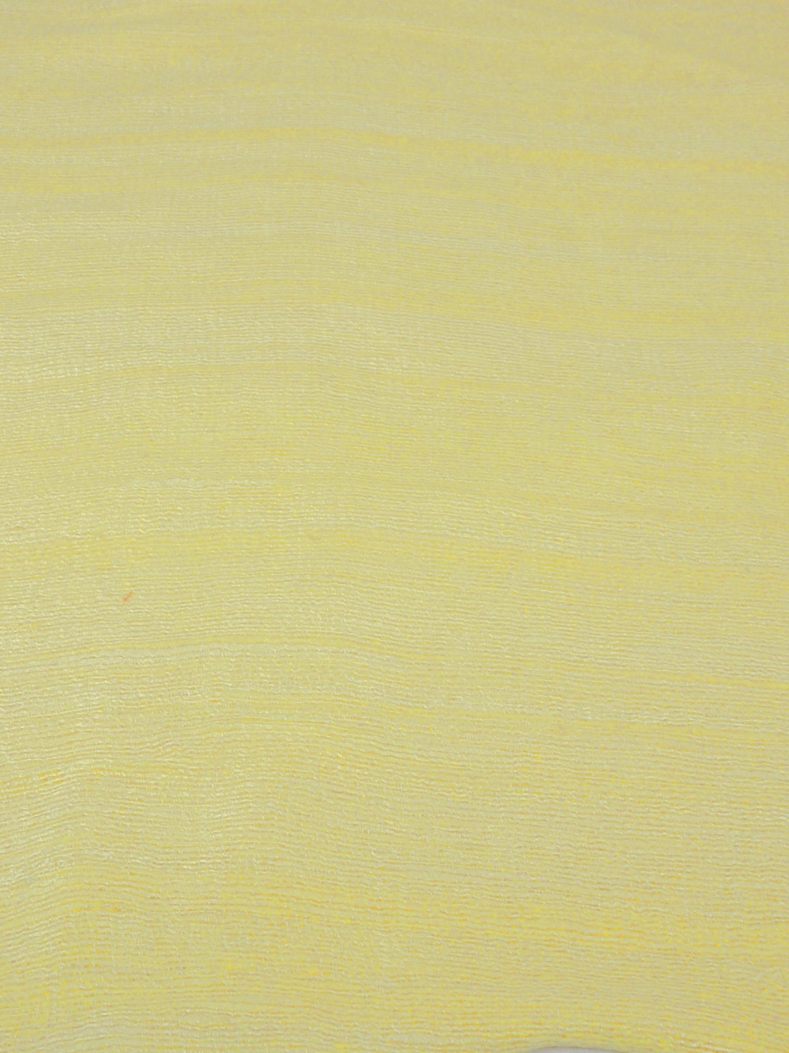Pure Raw Silk Long Scarf Hanoi Weave Cream by Pashmina & Silk