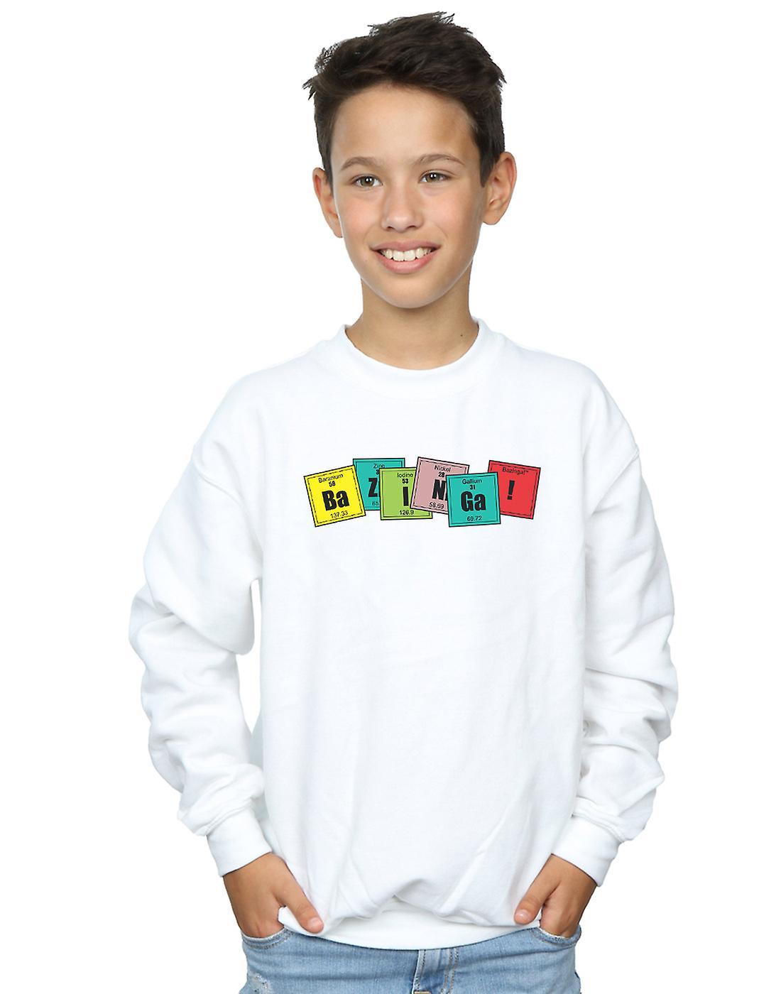 The Big Bang Theory Boys Bazinga Elements Sweatshirt