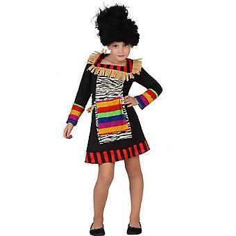 Faschingskostüme für Kinder Mädchen Zulu verkleiden Kostüm für Mädchen