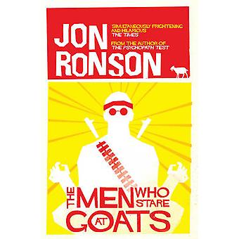 The Men Who Stare at Goats (Unabridged) by Jon Ronson - 9780330375481