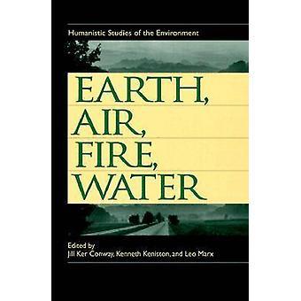 Aarde - Air - Fire and Water - humanistische Studies van de milieu-b