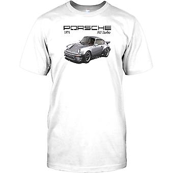 Porsche 911 Turbo - 1975 - Classic Car męskie T Shirt
