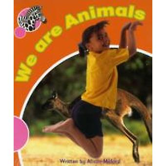 Spotty Zebra Pink A Change We are Animals x6 by Alison Milford & Edited by Susan Hughes & Edited by Nicki O Brien & Edited by Victoria Anne Bennett