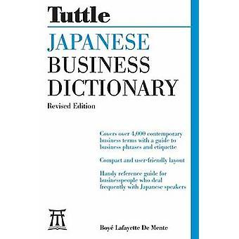 Japansk Business ordbog af Boye Lafayette De believed - 97808048458