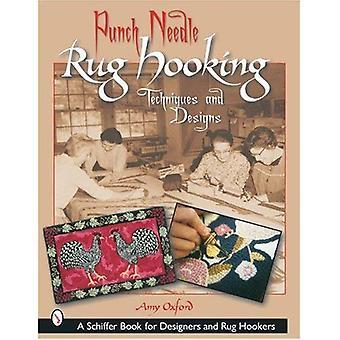 Punch naald Rug aansluiten: Technieken en Designs (Schiffer boek voor ontwerpers en Rug Hookers)