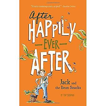 Jack e os petiscos de feijão (após felizes)