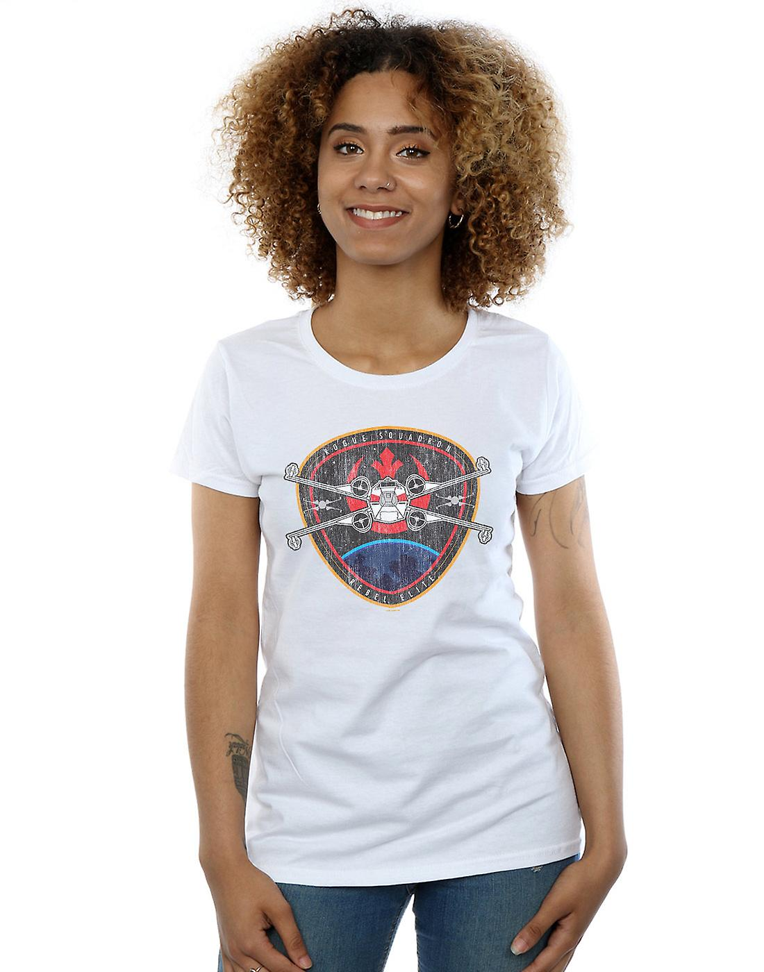 Star Wars Women's Rebel Elite Badge T-Shirt