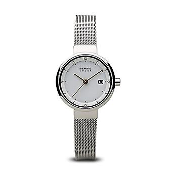BERING Solar Analog Woman with stainless steel strap 14426-001