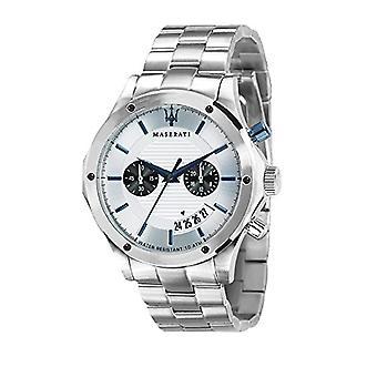 MASERATI watch chronograph quartz men with stainless steel strap R8873627005