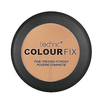 TECHNIC kleur correctie Fine ingedrukt poeder ~ Cafe Au Lait
