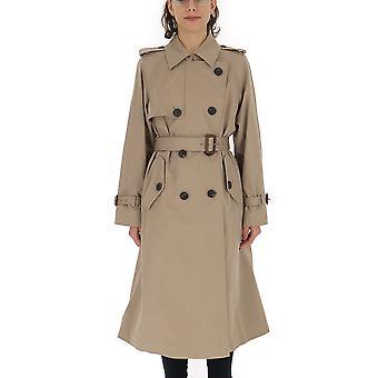 Miu Miu Beige Cotton Trench Coat