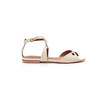 See By Chloé Sb32020a09001139 Women's White Leather Sandals