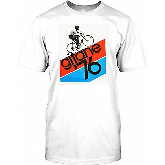 Gitane 76 - clássico Tour De France Mens T-Shirt