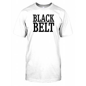 Bold (realce) - faixa-preta de Karate Master Mens T-Shirt