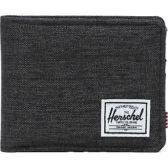 Herschel Roy RFID Wallet - Black Crosshatch