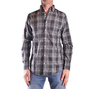 Gant Ezbc144012 Uomo's Camicia di cotone grigio