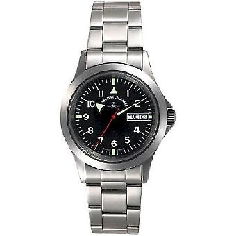 Zeno-watch mens watch military special automatic medium DD 5206A-a1M